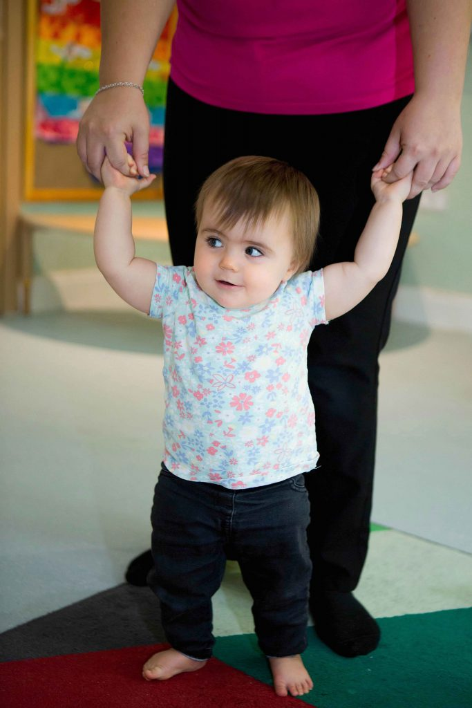 Learning to walk